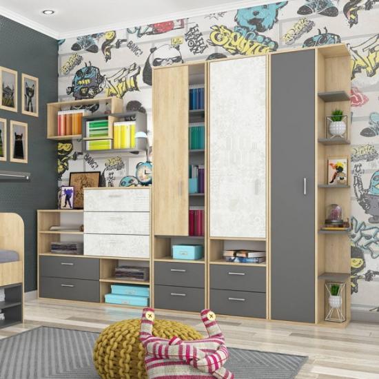 Детские шкафы, стеллажи и полки
